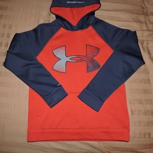 Boys Youth Under Armour Hoodie Size Large Storm
